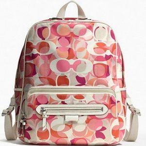 Rare Coach Daisy Kaleidoscope Full Size Backpack